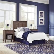 Southport Twin Headboard and Two Nightstands