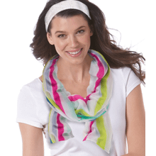 See Details - Party Stripe Scarf