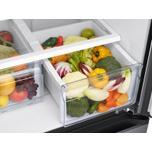 Samsung Appliances 19.5 cu. ft. Smart 3-Door French Door Refrigerator in Black Stainless Steel