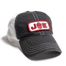 Mesh Back Joe Hat- Charcoal\/White