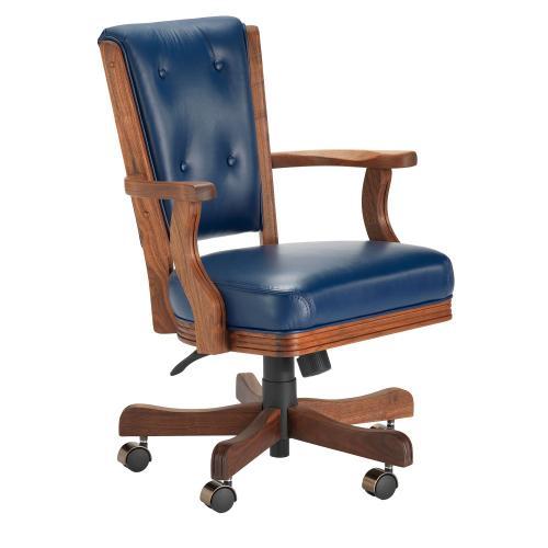 Darafeev Resort Furniture - 860 High Back Walnut Game Chair