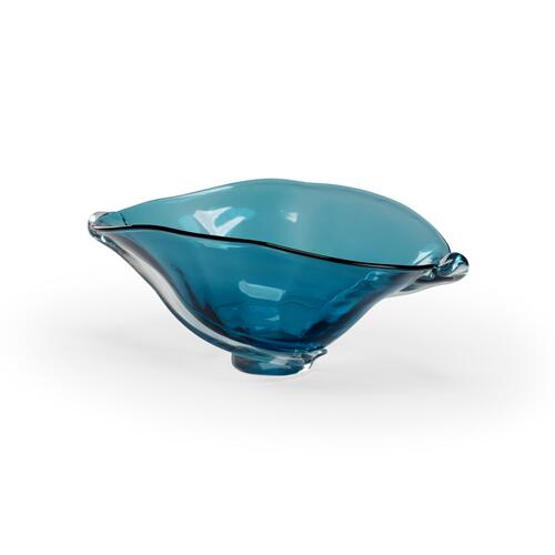 Blue Swirl Bowl