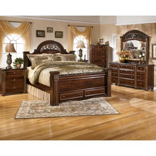 Gabriela Dresser Dark Reddish Brown