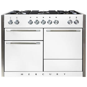 AGA Mercury 48 Dual Fuel White with Chrome trim