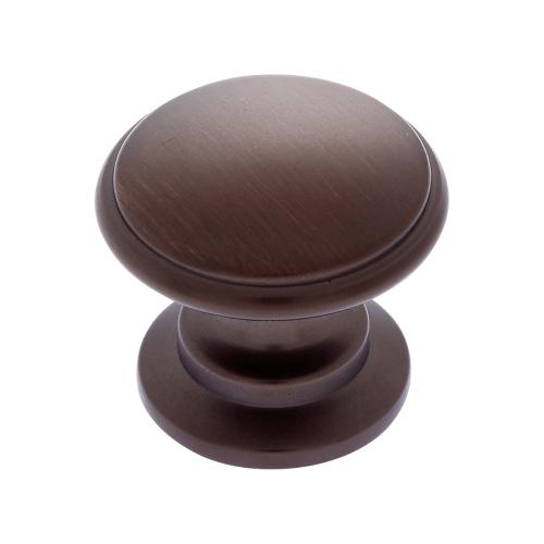 Old World Bronze 32 mm Round Knob