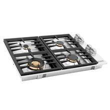 ZLINE 30 in. Dropin Cooktop with 4 Gas Brass Burners (RC-BR-30)