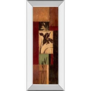 """Iris Shadow"" By Maria Donovan Mirror Framed Print Wall Art"