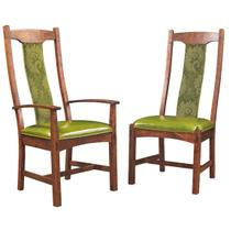 See Details - Addington Side Chair with Upholstered Seat