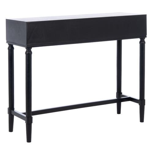 Safavieh - Estella 2 Drawer Console Table - Black