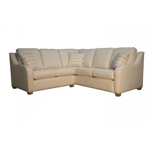 Capris Furniture - 528 SECTIONAL PIECES