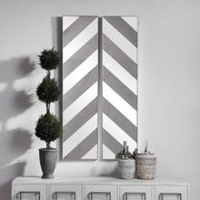 Jeannie Mirrored Wall Decor, S/2