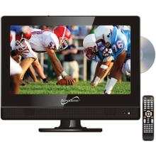 "13.3"" 720p Widescreen LED HDTV/DVD Combination, AC/DC Compatible with RV/Boat"