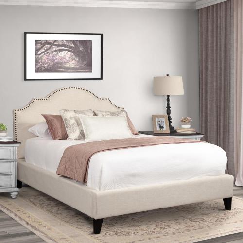 CHARLOTTE - FLOUR Queen Bed 5/0