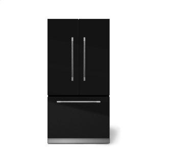 "AGA Mercury 36"" French Door Refrigerator, Gloss Black"