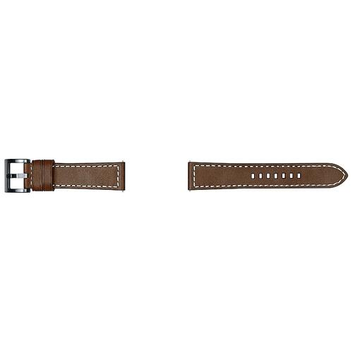 Leather Strap Tuscany (22mm) Dark Brown