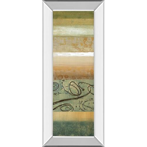 "Classy Art - ""Bluemood I"" By Selina Werbelow Mirror Framed Print Wall Art"