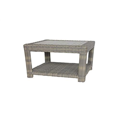 Princeville Coffee Table Base w/Glass