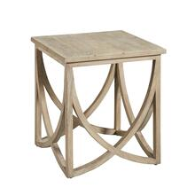 Wishbone End Table