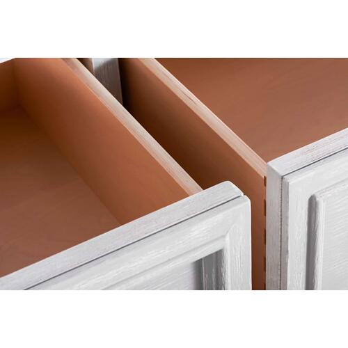 A.R.T. Furniture - Charlotte 8 Drawer Dresser Chippy Gray