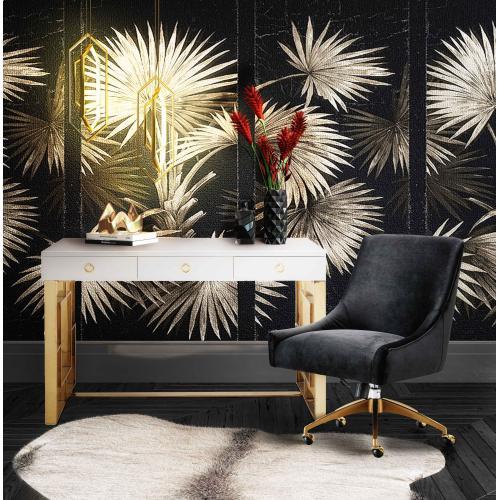 Beatrix Black Office Swivel Chair