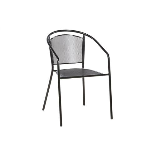 Martini Iron Mesh Cafe Stackable Chair