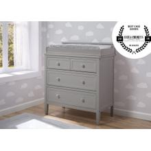 Epic Signature 3 Drawer Dresser with Changing Top - Grey (026)