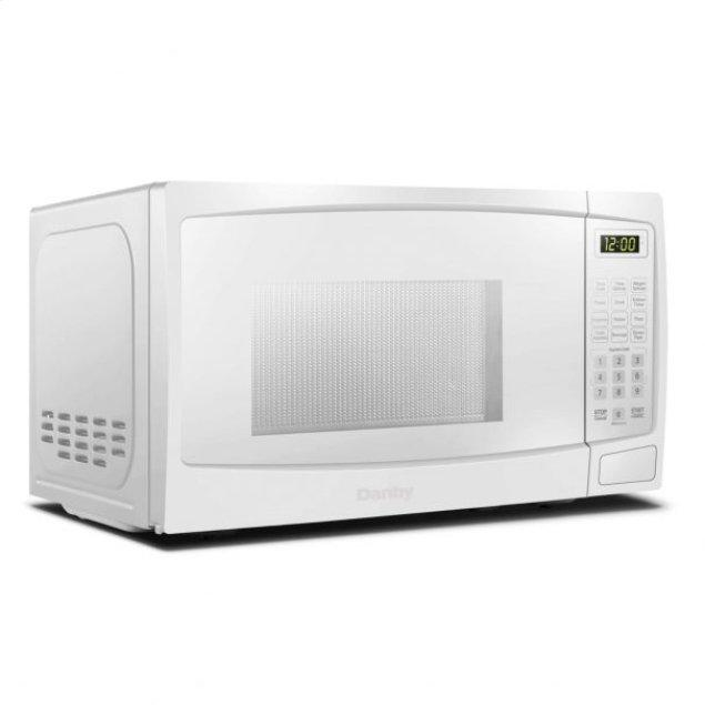 Danby Danby 1.1 cu ft. White Microwave with Convenience Cooking Controls