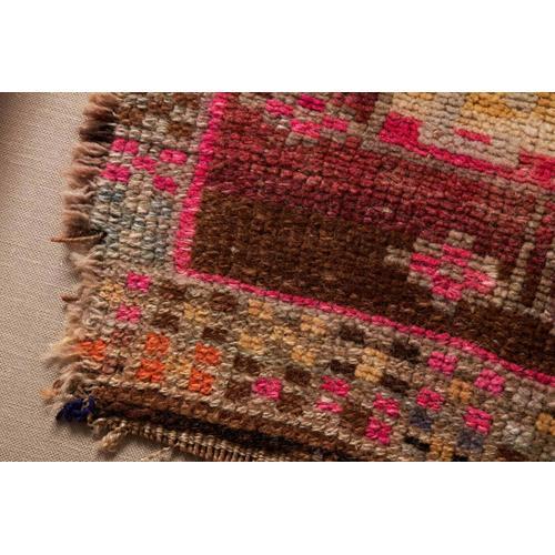 0351180024 Vintage Turkish Rug Wall Art