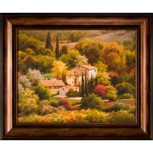 Tuscan View 22x28