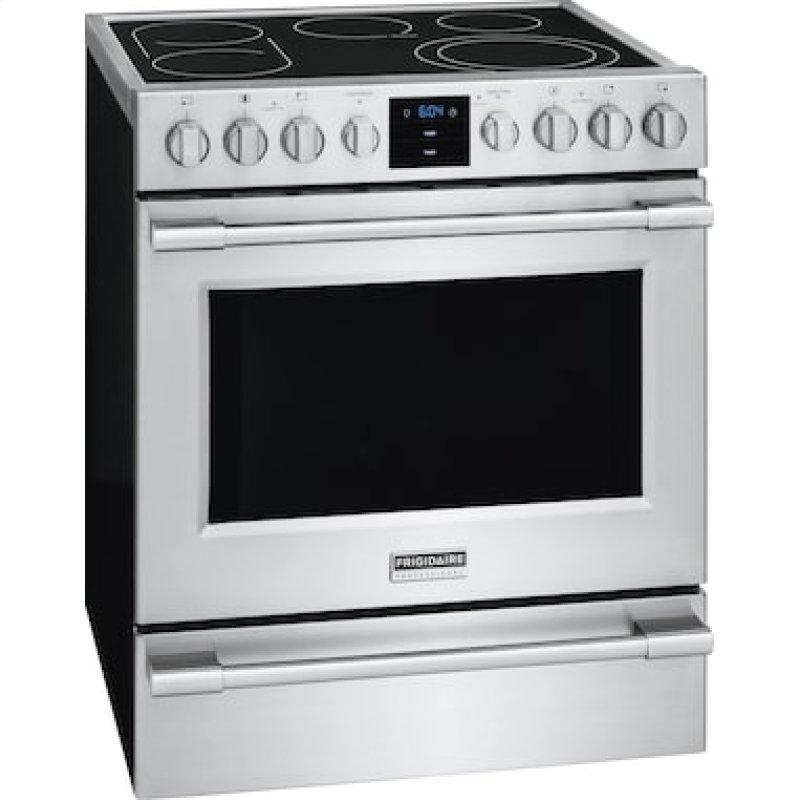 Professional 30'' Electric Front Control Freestanding