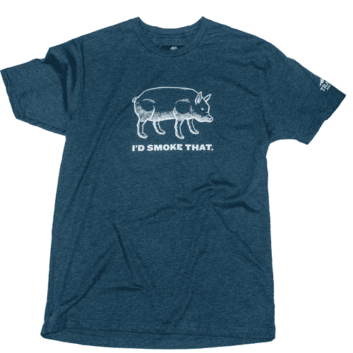 Traeger Grills - I'd Smoke That Pig T-Shirt - Large