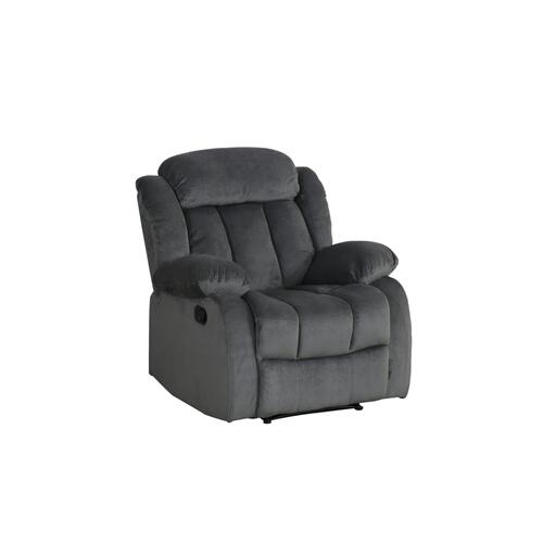 SU-LN550 Collection  Reclining Chair in Charcoal
