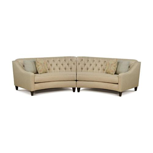 V3F0-SECT Armless Loveseat