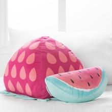 Dreamit - Strawberry & Watermelon Throw Pillows, 2- Pack, Pink