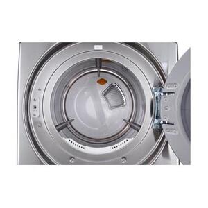 LG - 7.4 cu. ft. Ultra Large Capacity SteamDryer™ w/ NFC Tag On