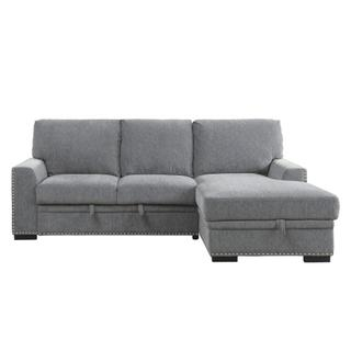 Morelia Sectional w/ Pull Out Bed Right