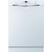 "24"" Recessed Handle Dishwasher Ascenta- White"