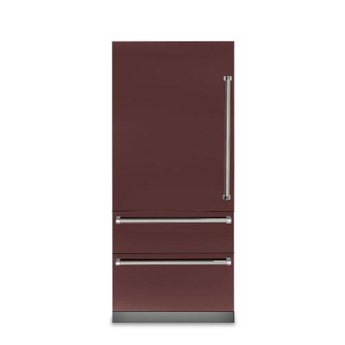 "Product Image - 36"" Fully Integrated Bottom-Freezer Refrigerator - VBI7360W"
