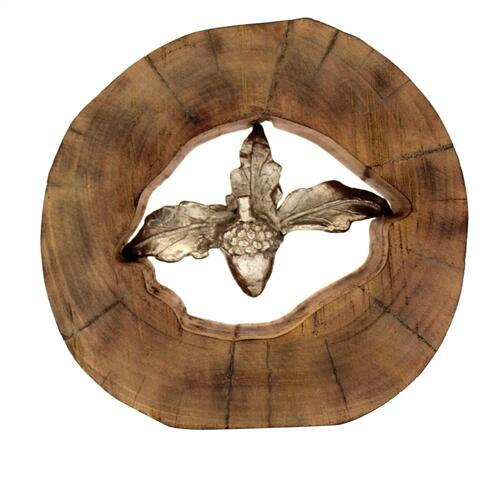 Acorn Wood Sculpture
