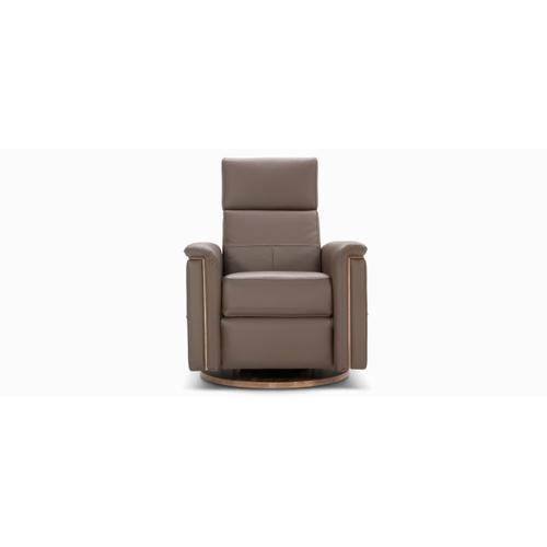 Melbourne Swivel and rocking motion chair (043; Insert & Wood legs - Tobacco T2)
