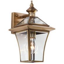 See Details - Virginia Single Light Sconce - Brass Lamp