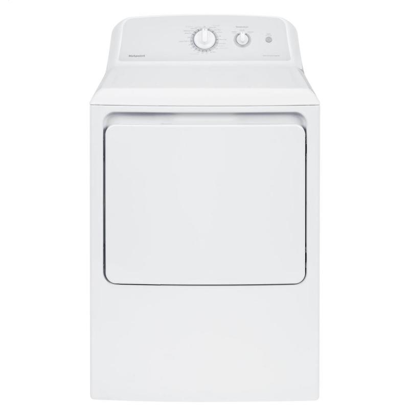 View Product - Hotpoint® 6.2 cu. ft. Capacity aluminized alloy Electric Dryer