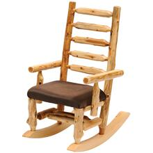 Rocking Chair - Natural Cedar - Standard Fabric