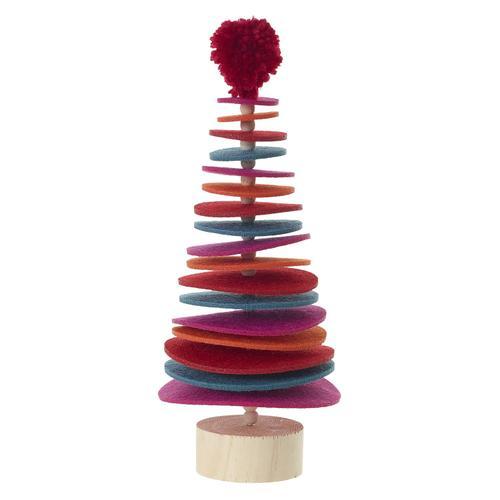 "Sugar Plum Tree (Size:4.75"" x 11"", Color:Multicolor)"
