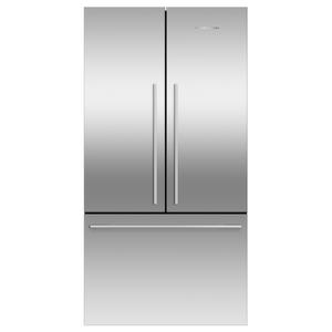"""Fisher & PaykelFreestanding French Door Refrigerator Freezer, 36"""", 20.1 cu ft, Ice"""