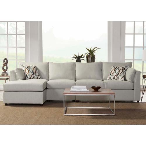 Hughes Furniture - 13550 Armless Loveseat
