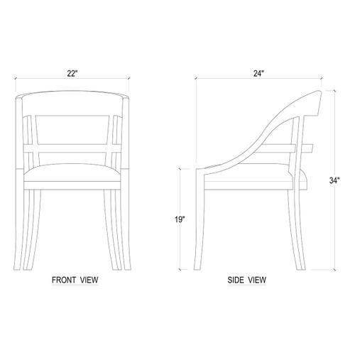 Gallery - Zimmerman Chair (34 x 22 x 24)