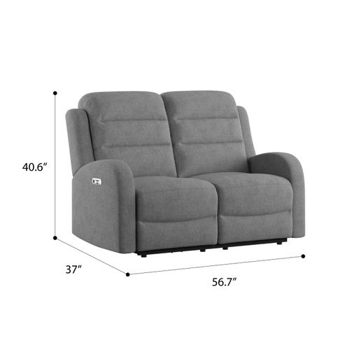Gallery - Dual Power Loveseat and Headrest