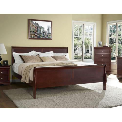 Orleans Queen 4-Piece Bedroom (Queen Bed/DR/MR/NS)