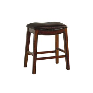 """Fiesta 24"""" Backless Counter Height Stool in Brown"""